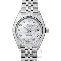 Rolex 279174-0009G Oro blanco Lady-Datejust 28mm nuevo
