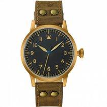 朗坤 45mm 計時碼錶 Saarbrücken 新的