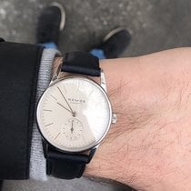 NOMOS Orion 33 Steel 33mm Silver
