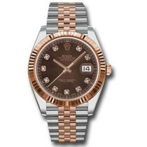Rolex Datejust II Gold/Steel 41mm Brown United States of America, Pennsylvania, Holland