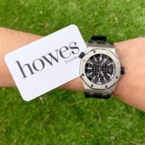 Audemars Piguet Royal Oak Offshore Diver Steel 42mm Black No numerals United Kingdom, LONDON