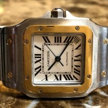 Cartier Santos Galbée Gold/Steel 32mm Silver Roman numerals United States of America, Pennsylvania, Philadelphia