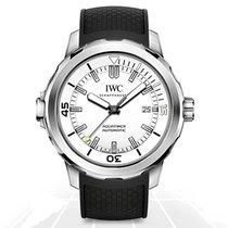 IWC Aquatimer Automatic Stahl 42mm Silber Keine Ziffern