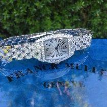 Franck Muller White gold 20mm Quartz FRANCK MULLER CINTREE CURVEX MINI WITH DIAMONDS 2500 QZ DP pre-owned