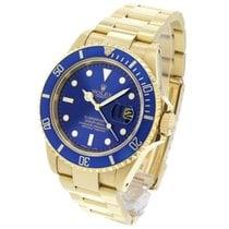Rolex 16618 Or jaune 1999 Submariner Date 40mm occasion