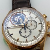 Zenith El Primero Tourbillon Rose gold 44mm Silver No numerals United States of America, New York, NEW YORK