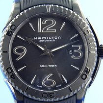 Hamilton Jazzmaster Seaview Steel 46mm Grey