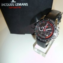 Jacques Lemans Steel 39mm Quartz Jacques Leamns F1, F-5006A new