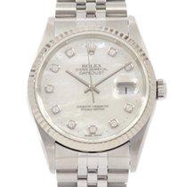 Rolex Datejust 36mm Blanc