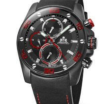 Rothenschild Abyss RS-1405-IB-BKRD red black 46 mm 100M