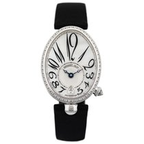 Breguet White gold Automatic Mother of pearl 36.5mm new Reine de Naples