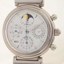 IWC White gold Automatic pre-owned Da Vinci Perpetual Calendar