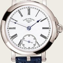 Lang & Heyne White gold 43.5mm Manual winding new
