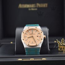 Audemars Piguet 67650SR.OO.1261SR.01 Royal Oak Pink Gold Dial...