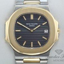 Patek Philippe Nautilus Jumbo 3700 Edelstahl Gelbgold 750...