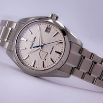 Seiko Titanium Automatic White No numerals 41mm new Grand Seiko