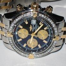 Breitling Chronomat Evolution 18K Gold Diamonds
