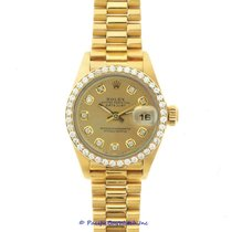 Rolex Lady-Datejust Yellow gold 26mm Champagne United States of America, California, Newport Beach