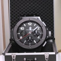 Hublot Big Bang Chrono All Black Ferrari Wall Clock NEW