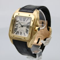 Cartier Santos 100 XL  18k Yellow Gold - Box & Papers