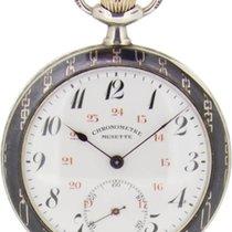 16072 Befriedigend Silber 51mm Handaufzug Schweiz, Basel