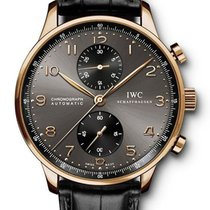 IWC Portuguese Chronograph new 40.9mm Red gold