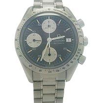 Omega Speedmaster Chronograph Date Steel Black Dial 39mm...