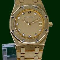 Audemars Piguet Royal Oak Lady 18k Yellow Gold Diamonds