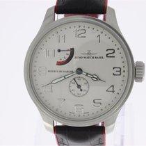 Zeno-Watch Basel OS Pilot Ατσάλι 47mm Σαμπανιζέ χρώμα Αραβικοί
