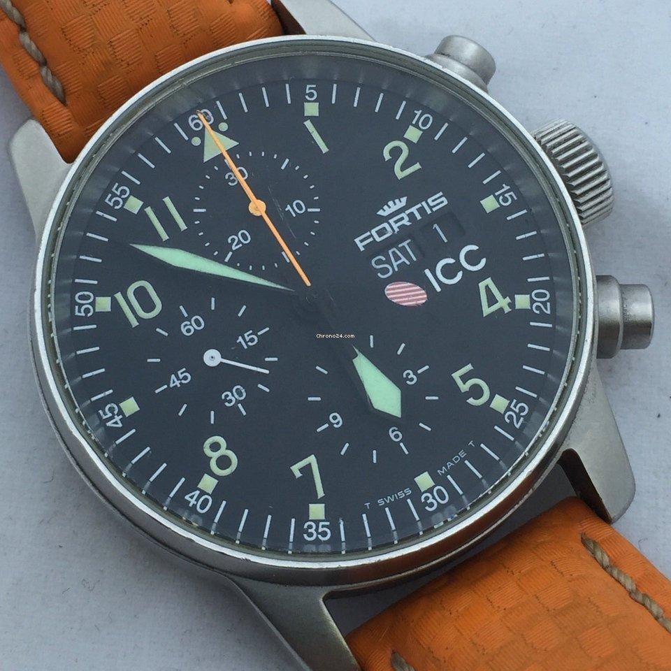 Použité hodinky Fortis Flieger  cd6dd32edb