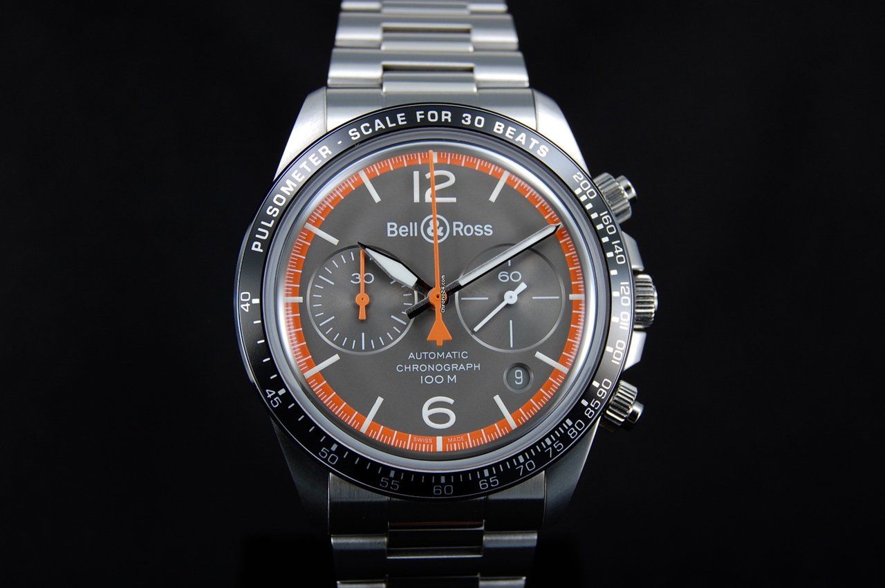 9d316e49cff3 Bell   Ross Steel watches - all prices for Bell   Ross Steel watches on  Chrono24