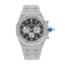 Audemars Piguet Royal Oak Chronograph White gold 41mm Purple No numerals United States of America, New York, NYC