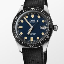 Oris Divers Sixty Five Steel 42mm Blue United States of America, New York, New York