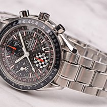 Omega 3529.50.00 Steel 2007 Speedmaster Day Date pre-owned