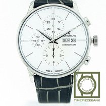 Junghans Meister Chronoscope Steel 40.7mm Silver