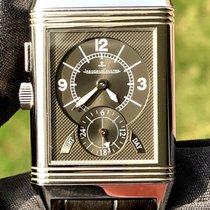 Jaeger-LeCoultre Reverso Duoface pre-owned Crocodile skin