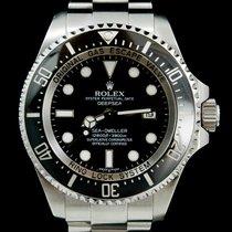 Rolex Sea-Dweller Deepsea Acier 44mm Noir Sans chiffres Belgique, Brussel
