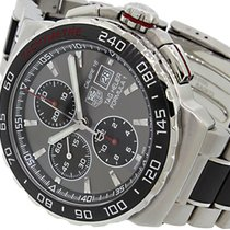 TAG Heuer Formula 1 Calibre 16 pre-owned 44mm Grey Chronograph Date Tachymeter Steel