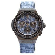 Hublot Big Bang Jeans Ceramic Black Diamonds 41 mm