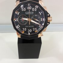 昆仑 Corum Admiral's Cup Leap Second Rose Gold 48