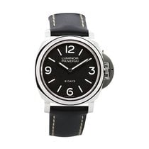 Panerai Luminor Base 8 Days nouveau 2019 Remontage manuel Montre avec coffret d'origine et papiers d'origine PAM00560 Luminor Base 8 Days Acciaio