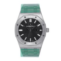Audemars Piguet Royal Oak Lady Steel 33mm Black No numerals United States of America, New York, New York