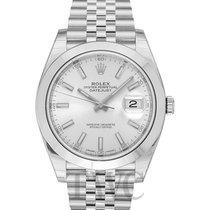 Rolex Datejust 41 Silver/Steel 41mm Jubilee - 126300
