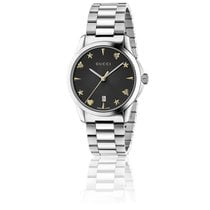 209e03465da Gucci YA1264029 G-Timeless Black Gold Motif Dial Bracelet... for S ...