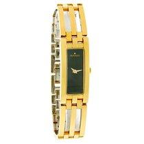 Movado Esperanza Baguette Ladies Gold Tone Swiss Quartz Watch...