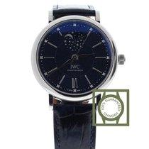 IWC Portofino Automatic Blue Dial Ladies Watch NEW