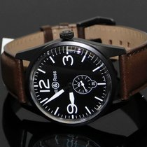 Bell & Ross new Automatic PVD/DLC coating 41mmmm Steel