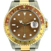 Rolex GMT II Occhio di Tigre acc-oro zaffiro art. Rg366