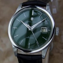 Waltham Maxim Swiss Made 1970s Men's Manual Stainless Steel...