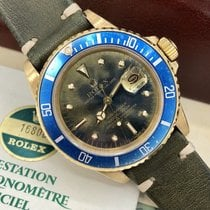 Rolex Submariner 16808 Amazing Tropical Full Set Punch Papers Box